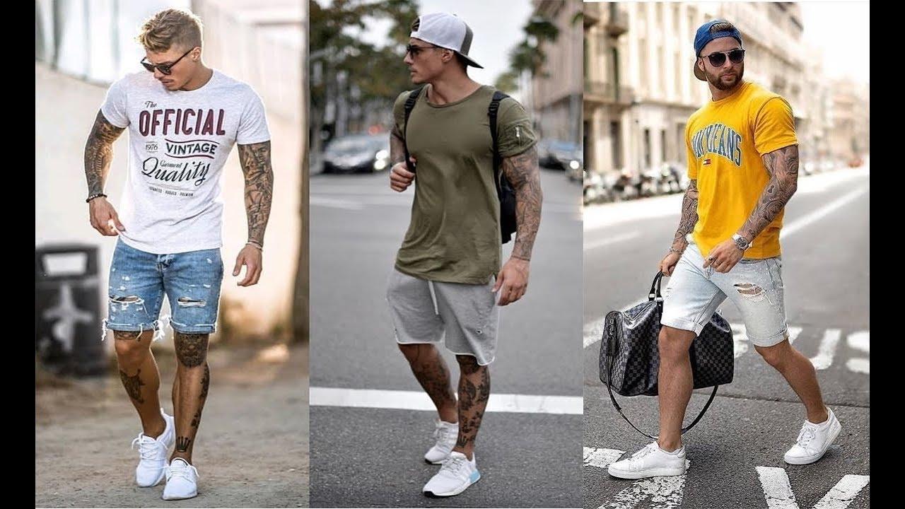 bc915fdd5a422 أجمل ملابس شباب و رجال 2019   اجمل تشكيلة ملابس صيفية للشباب تنسيقات 2019  !! صيف 2019