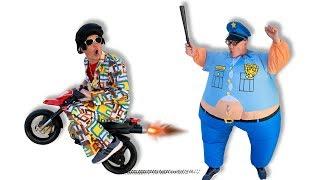 प्रेटेंड प्ले पुलिस - बुरे ड्राइवरों