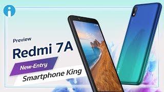 พรีวิว Redmi 7A สมาร์ทโฟนราคาประหยัด ถูกใจคนใช้งานน้อย