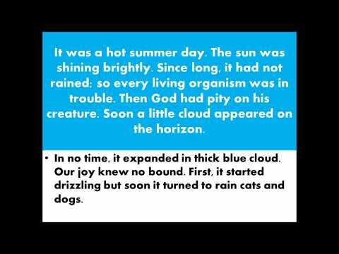 A Rainy Day English Essay In Urdu Hindi Translation