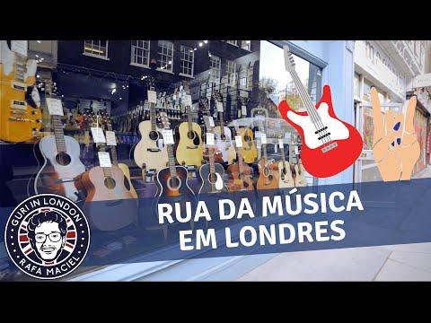 Rock britânico e a Denmark Street