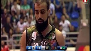 بطولة لبنان لكرة السلة - Sagesse VS Homentmen - 2018 - 2017 thumbnail