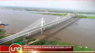 Nuevo puente Pumarejo estará listo en 2018