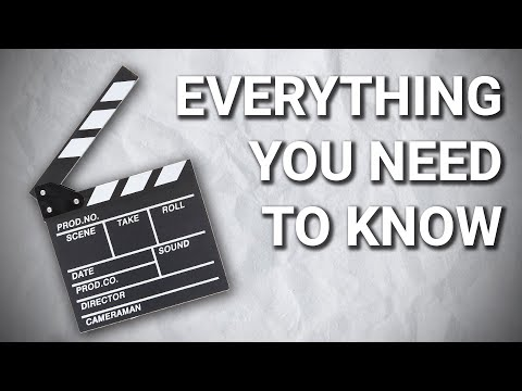 Film Making Basics: Everything you need to know in 8 minutes!