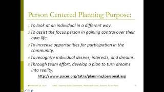 Transition in Action Series:  Inspiring Vision Statements, Measurable Goals &  Dynamic Action Plans