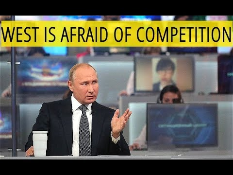 Putin: West Takes Measures Against Russia Because They See Russia As A Rival