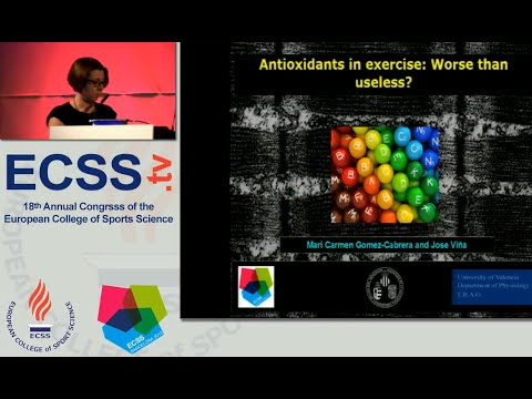Antioxidants in exercise: Worse than useless? - Prof. Gomez-Cabrera