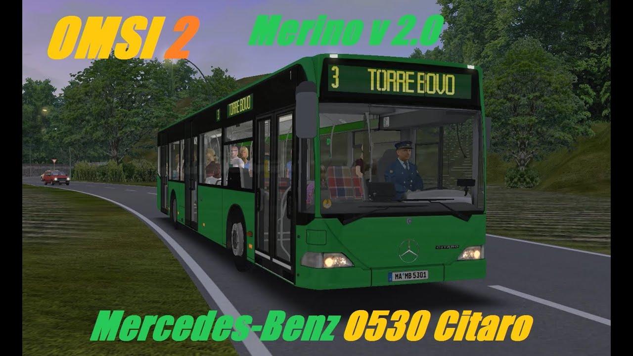 mercedes benz 0530 citaro omsi