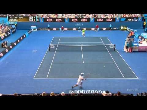 Rafael Nadal vs Alex Kuznetsov Australian Open 2012 Highlights HD 720p