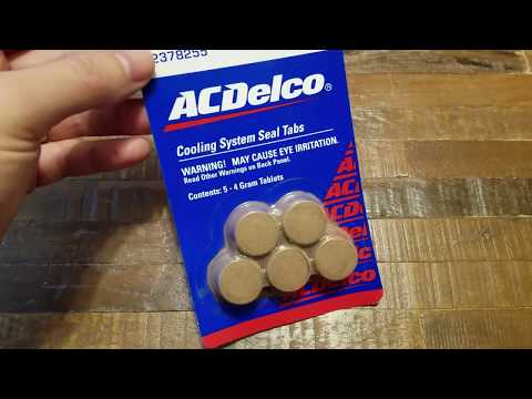 ACDelco Cooling System Radiator Seal Stop Leak, Best Coolant Stop Leak Tablets