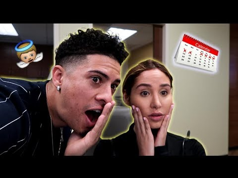 FINDING OUT HOW MANY WEEKS WE ARE PREGNANT!!!