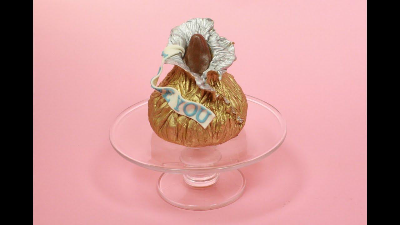 Hershey\'s Kiss Cake (how-to) - YouTube