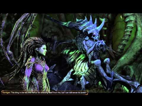 After Hand of Darkness Conversations - Xel'Naga Secrets Achievement - Starcraft 2 Heart of the Swarm