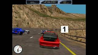 Viper Racing (PC, 1998) - Lancer Evo VIII mod