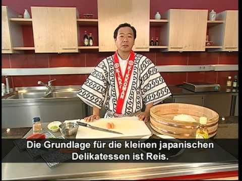 Sushi selber machen - Der Sushi-Meister zeigt wie