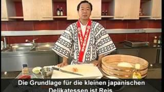 Sushi selber machen - Der Sushi-Meister zeigt wie's geht