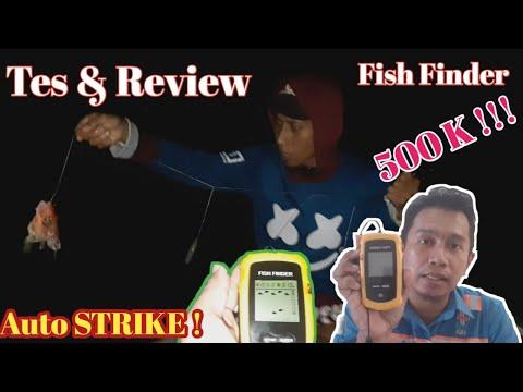 Tes & Review Fish Finder 500 Ribuan