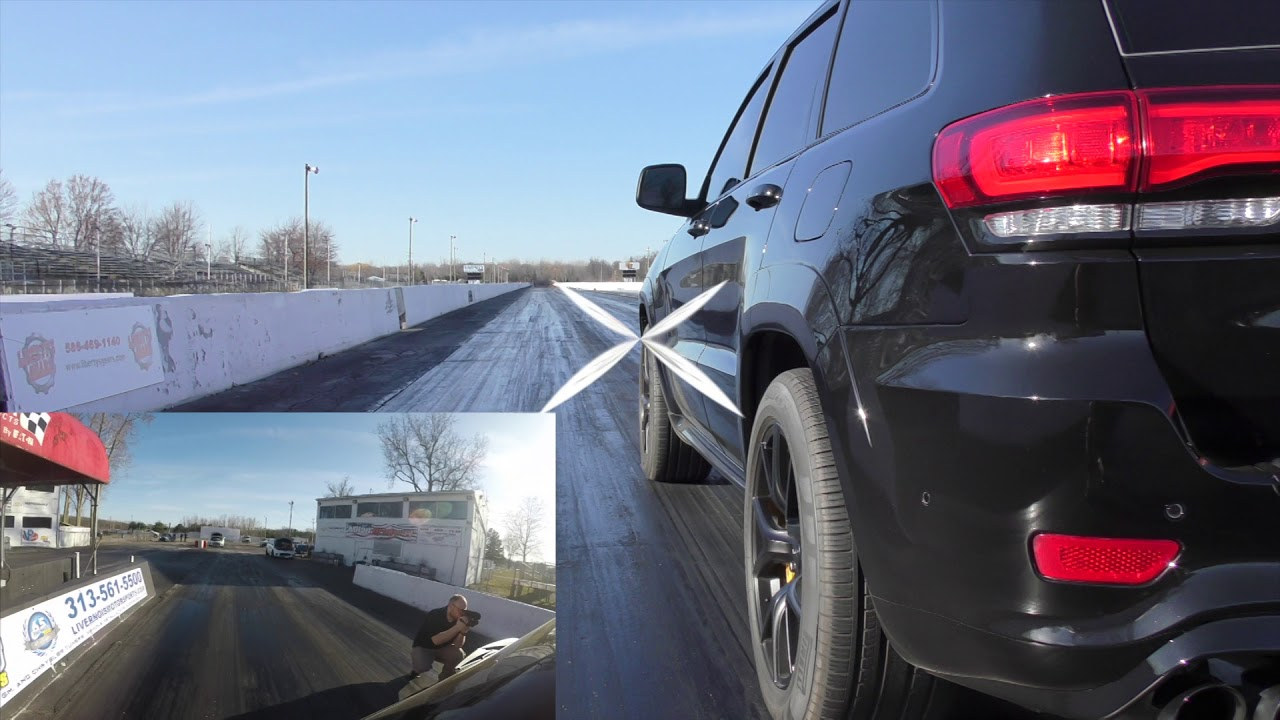 Tuned-up Jeep Trackhawk Breaks Two Records in One Day - JK-Forum