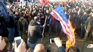 Trump's Jerusalem decision sparks worldwide protests