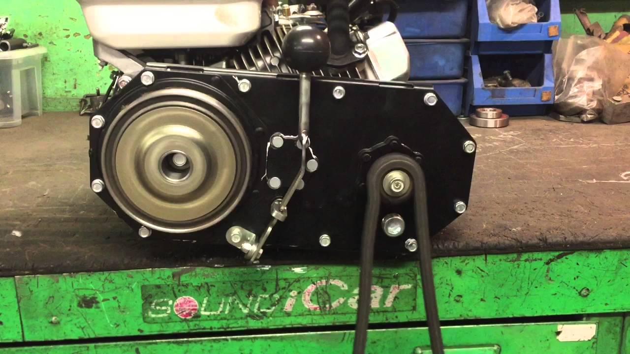 Установка редуктора на двигатель LIFAN 168F-2 - YouTube