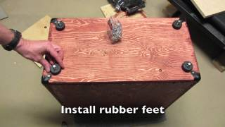 Guitar Tone - Build A Speaker Cabinet In 10 Easy Steps