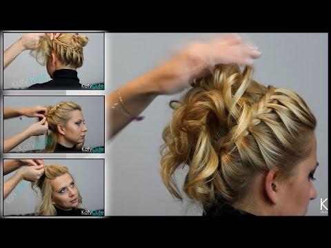 Красивые прически с косами: французская коса. Плетение кос своими руками.