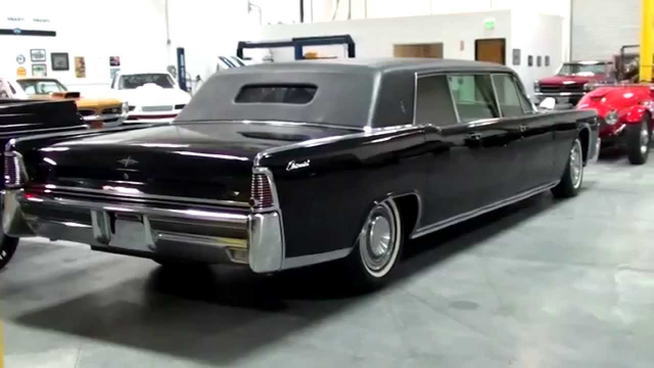 e4eb8cf83b 1965 Lincoln Continental Executive Limousine by Lehmann-Peterson - YouTube