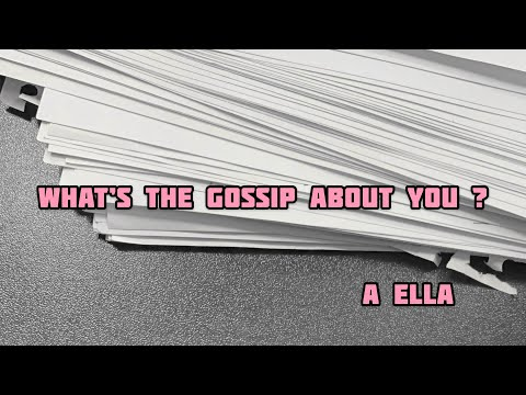 What's the gossip about you ? - Pick a Card