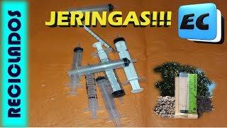 8 TIPS CON JERINGAS DESCARTABLES.