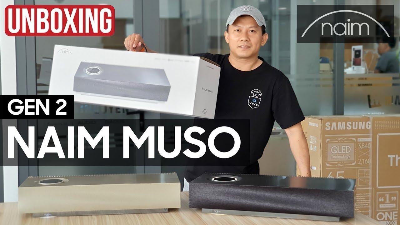 Naim Muso Gen 2 Unboxing – Khui hộp loa công nghệ cao cấp Naim Muso thế hệ 2