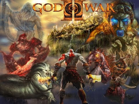 God Of War Ii Complete Game Movie Part 7 Youtube