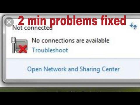 How To Fix Internet Connection Problem Windows 7 | Computer Internet Connection Problems Solve