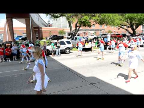 The 610 Stompers do the St. Bernard Irish, Italian and Islenos Parade 2012