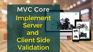 Server and Client Side Data Validation in ASP MVC Core and Learn to create custom attribute