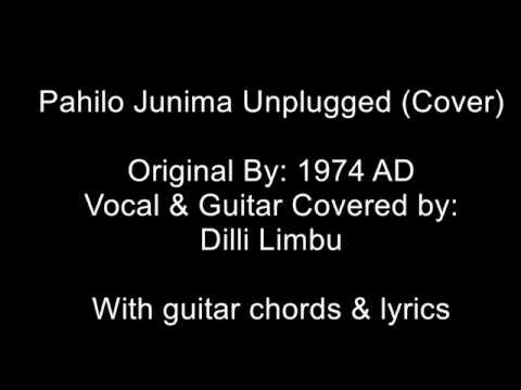 Pahilo Junima Unplugged Cover with Guitar Chords & Lyrics