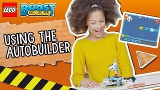 Using the AutoBuilder - LEGO BOOST - How To Video