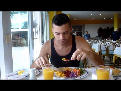 Djinga in Havana,Cuba - Breakfast at Habana Libre Hotel