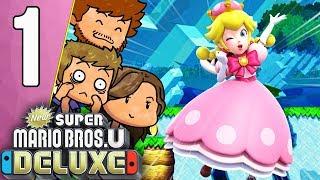 ELENA NE SAIT PAS JOUER À MARIO ! 😱   New Super Mario Bros. U Deluxe Ep.1