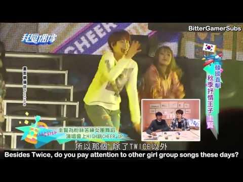 [ENG SUB] 161214 Idols Of Asia with Kyuhyun