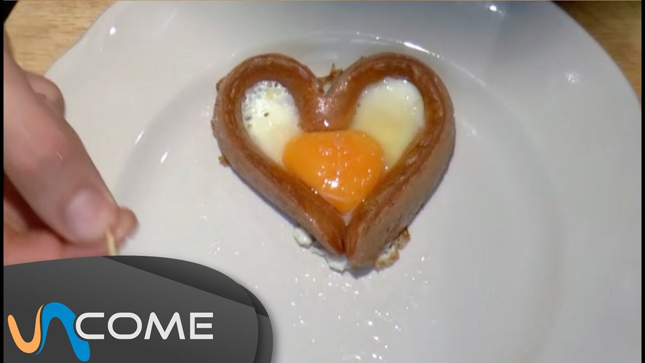 Wurstel a forma di cuore youtube for Cucinare wurstel