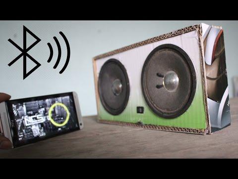 Como fazer um alto falantes Bluetooth com papelão
