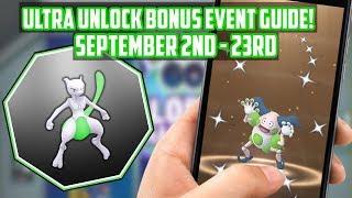 Ultra Bonus Unlock Event Guide For Pokemon Go!