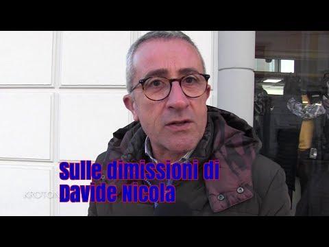 I commenti sulle dimissioni di Davide Nicola