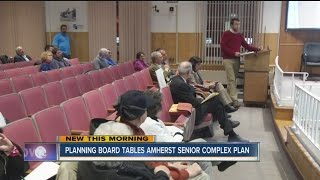 Amherst Planning Board Tables Senior Housing Complex Proposal