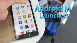 How to Install Android M Launcher on Any Android Device!