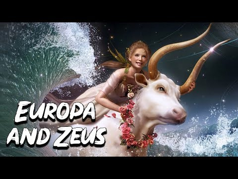 Europa and Zeus: The Abduction of Europa - Greek Mythology Stories - See U in History