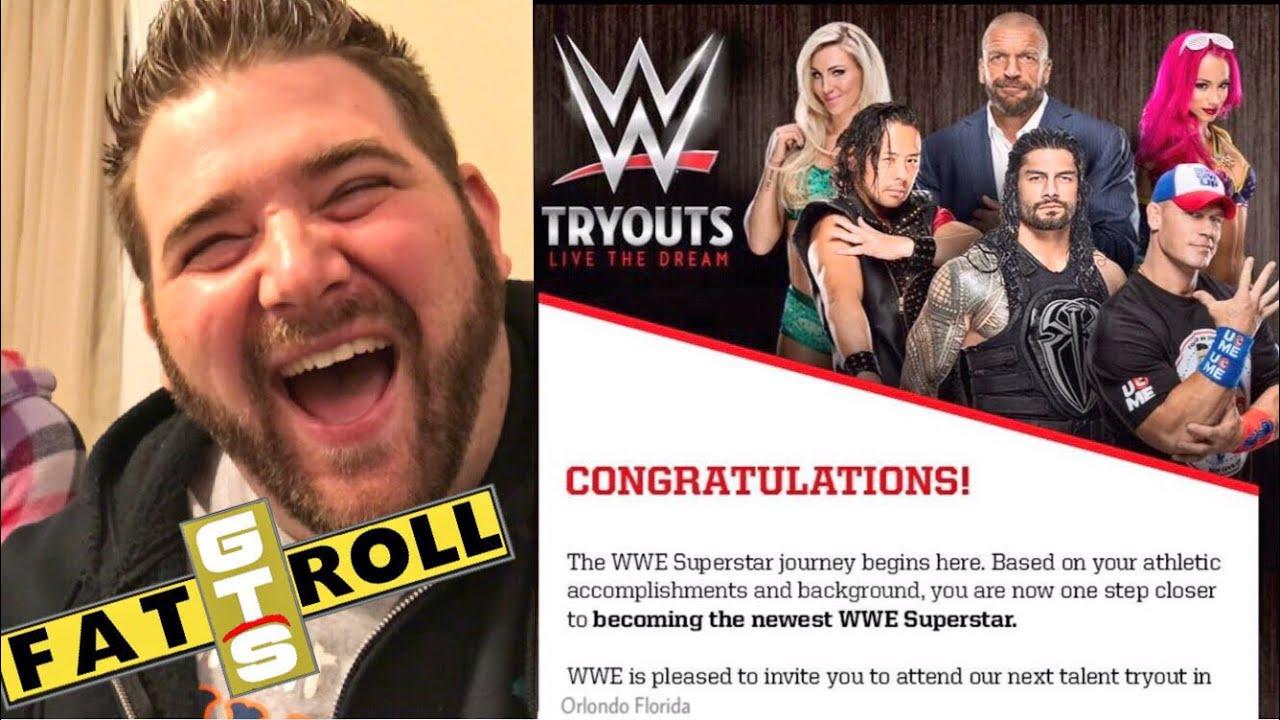 GOT AN NXT TRYOUT at WWE PERFORMANCE CENTER!