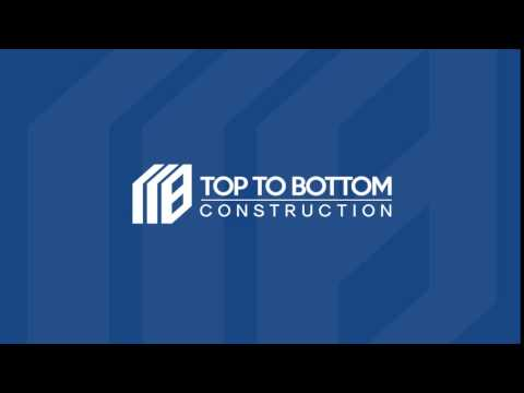 Top To Bottom Construction Logo Animation 2
