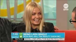 Lara Bingle on Breakfast!