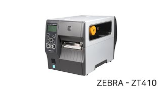 ZEBRA - ZT410 라벨 프린터 설정 방법